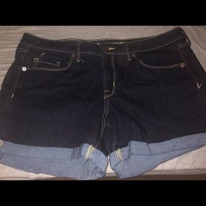 Size 12 stretchy shorts from target